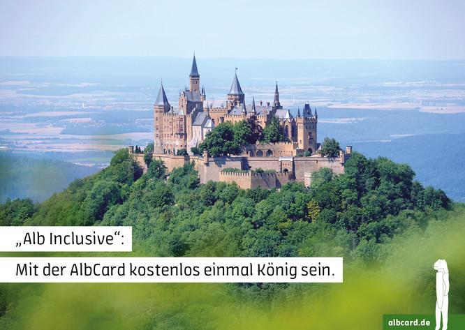 Alb Inclusive: Mit der AlbCard kostenlos einmal König sein.