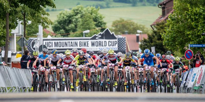Start UCI Mountainbike World Cup 2013 in Albstadt