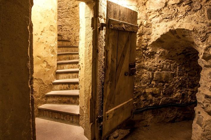 Kasematten in der Burg Hohenzollern