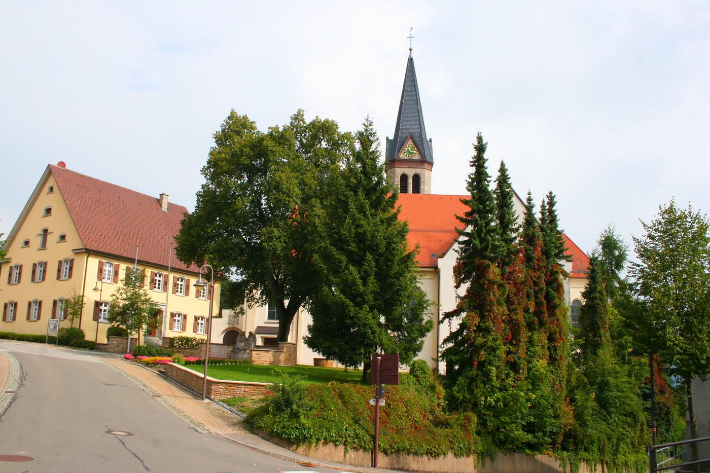 Kirche in Obernheim