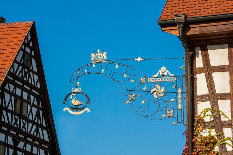 altes Wirtshausschild Balingen-Engstlatt