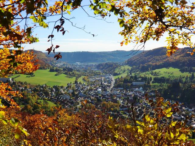 Blick auf Albstadt