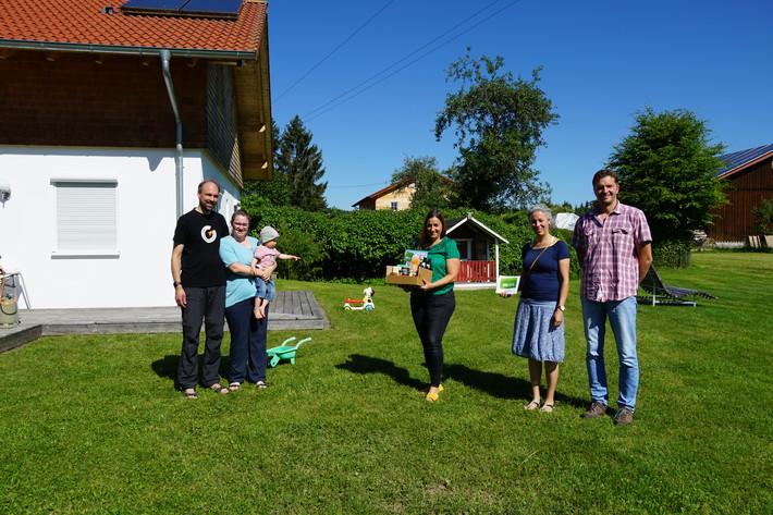 Begrüßung 1. AlbCard-Gast in Meßstetten-Geyerbad