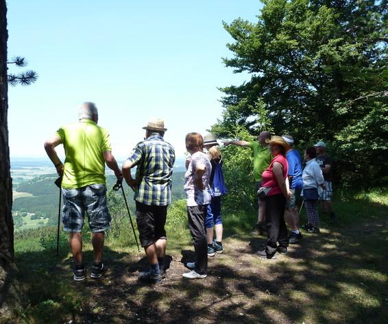 """Geführte Wanderung """"Burgweg Oberhohenberg"""""""