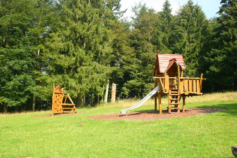 Spielplatz bei der Plettenberghütte