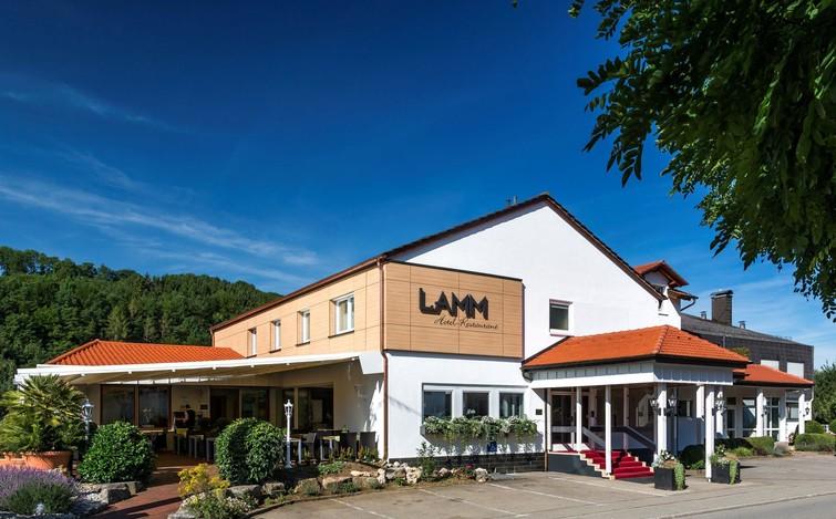 Außenansicht Hotel Restaurant Lamm, Hechingen-Stein
