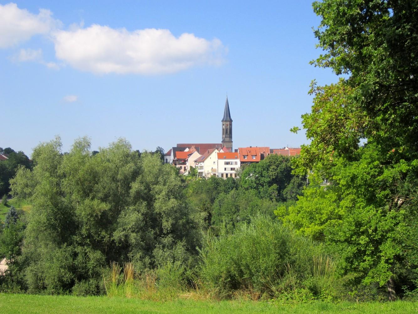 Blick auf Schömberg