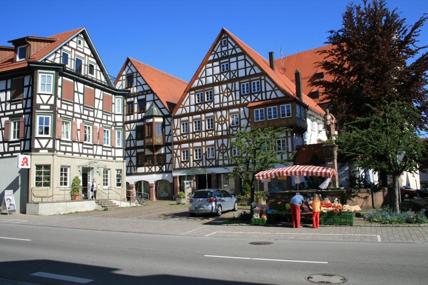 Markt in der Ortsmitte Rosenfeld