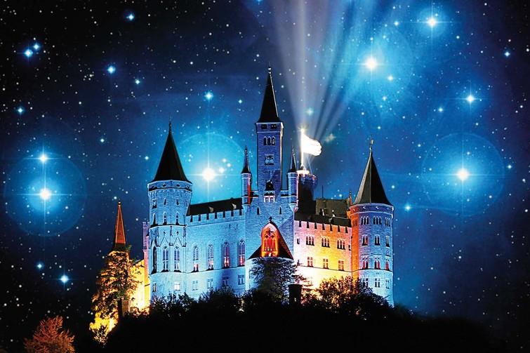 Sternschnuppennacht Burg Hohenzollern