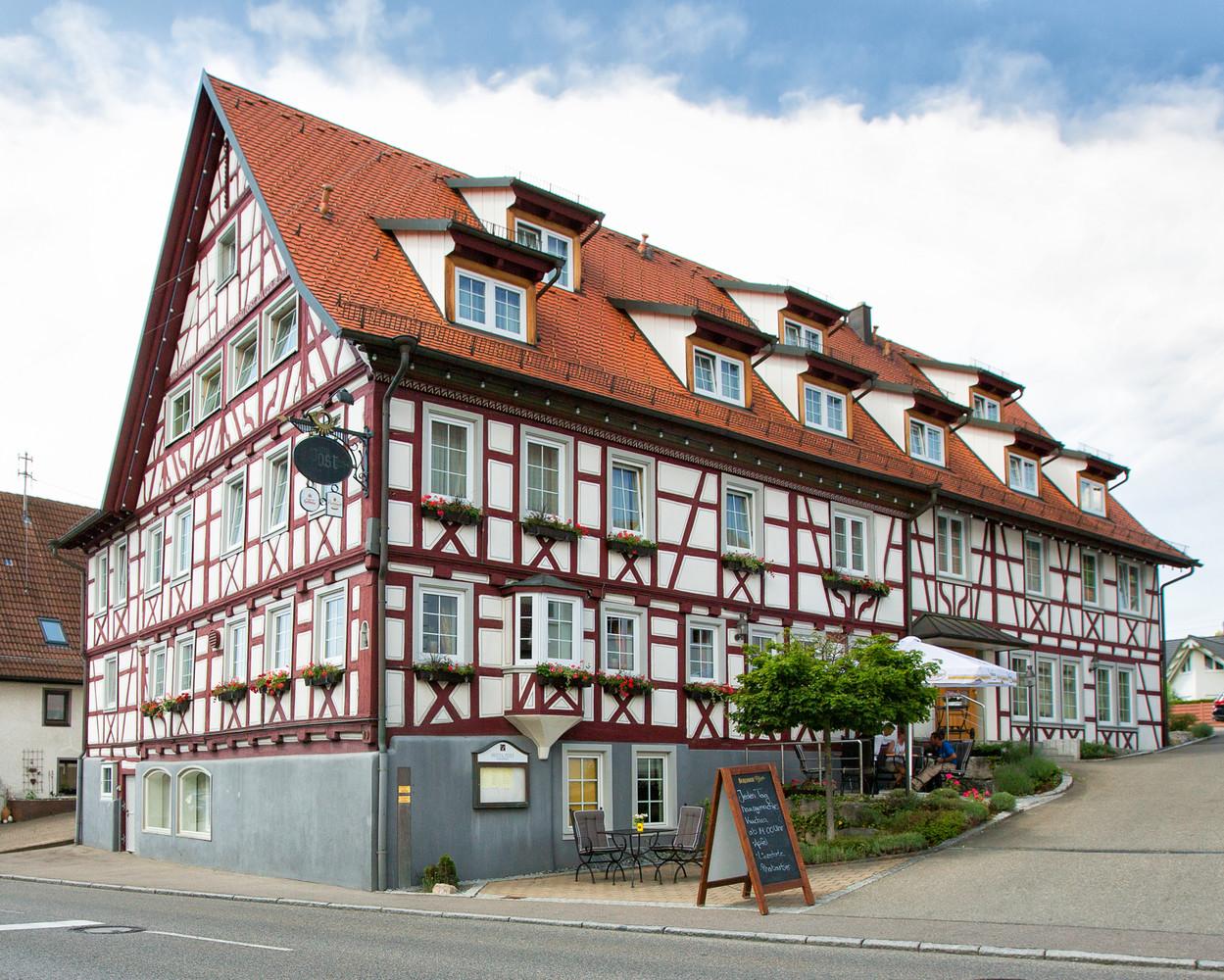 Hotel Post Jungingen, Fachwerkhaus